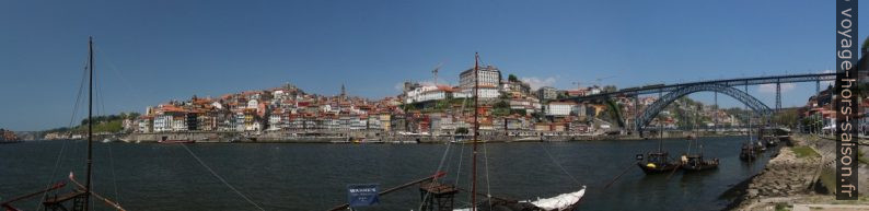 Ville de Porto vu par dessus le Douro. Photo © André M. Winter
