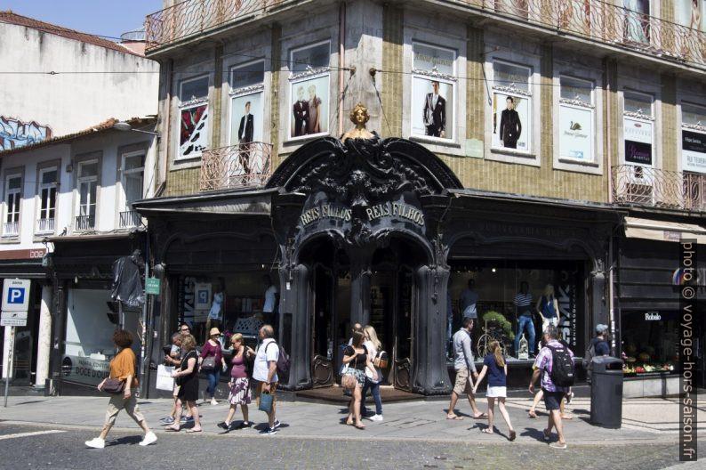 Boutique Reis & Filhos à Porto. Photo © André M. Winter
