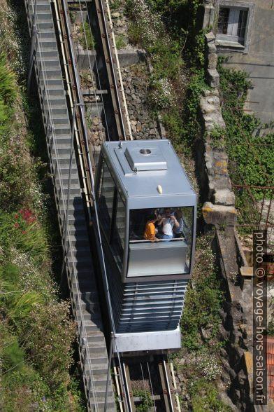 Funicular dos Guindais. Photo © André M. Winter