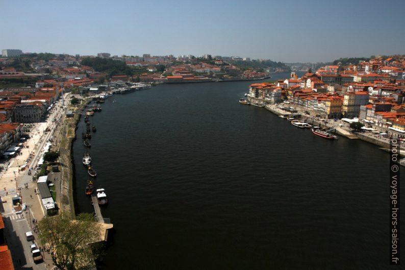 Le Douro vu du Pont Luís I. Photo © Alex Medwedeff