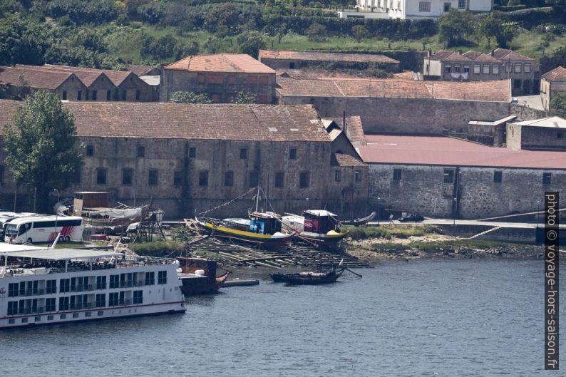 Chantier naval pour barcos rabelos. Photo © André M. Winter