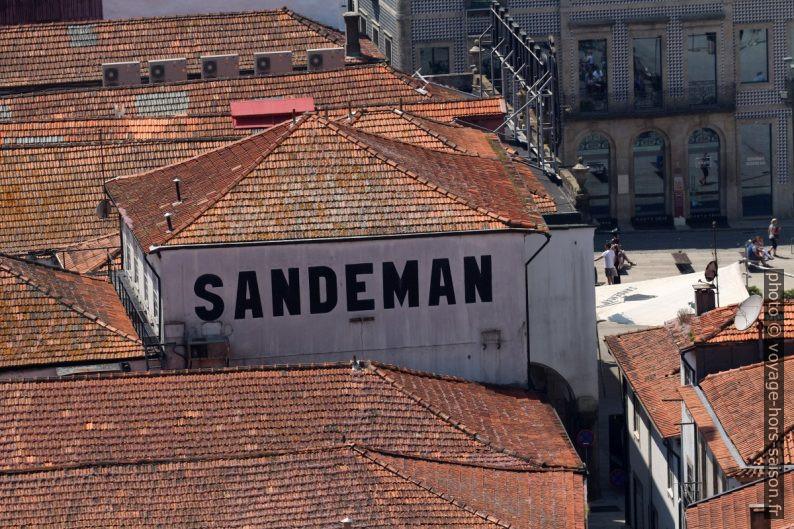 Publicité pour Sandeman. Photo © André M. Winter