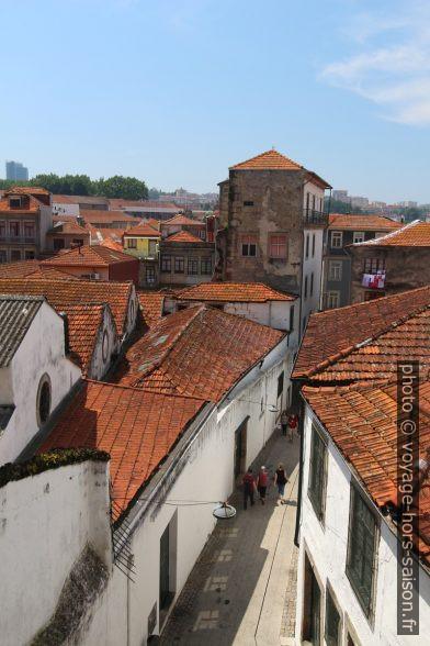 Tv. Calçada do Reis dans les celliers de porto. Photo © André M. Winter