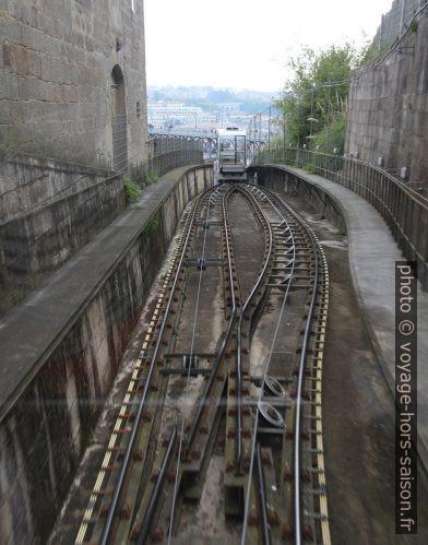 La zone d'évitement du Funicular dos Guindais. Photo © André M. Winter