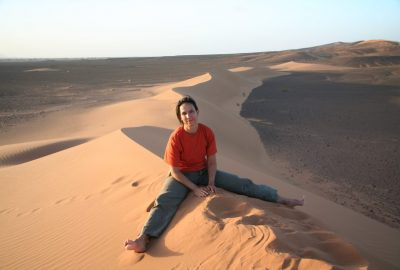 Alex sur la dune. Photo © André M. Winter