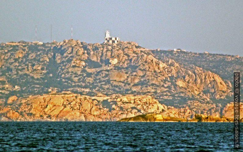 Sémaphore du Forte San Vittorio appelé aussi La Guardia Vecchia. Photo © André M. Winter