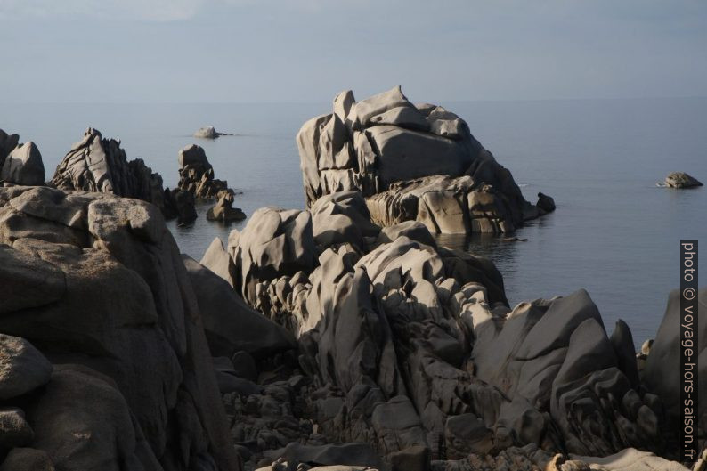 Granite du Capo Testa. Photo © Alex Medwedeff