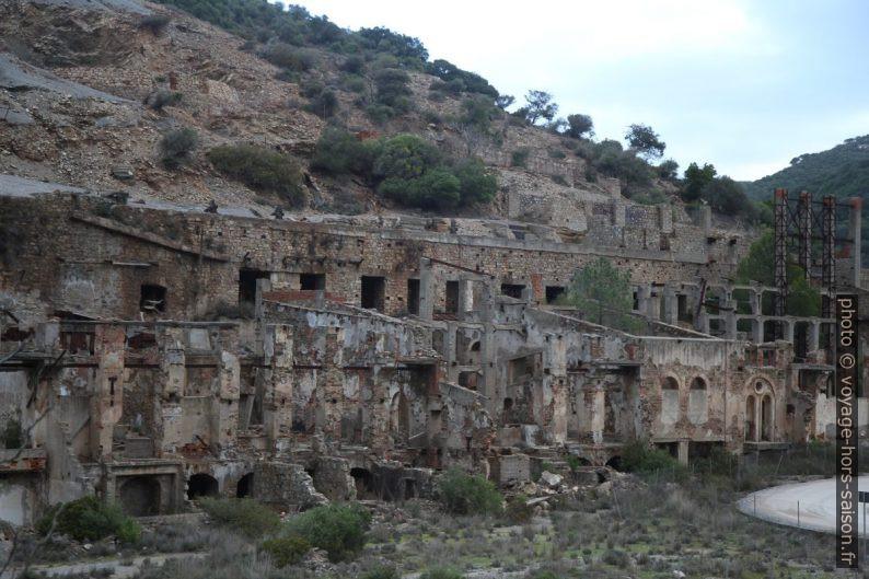 Mines abandonnées de Naracauli. Photo © Alex Medwedeff