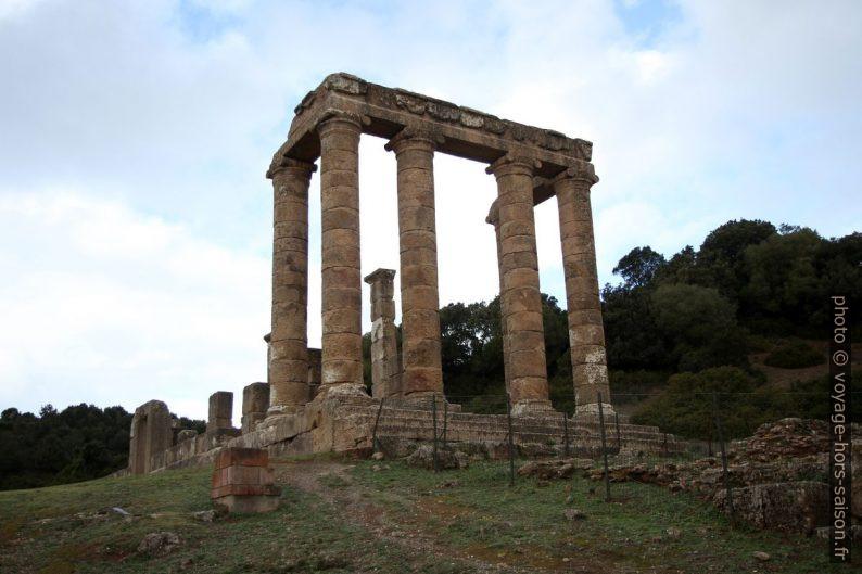 La partie antérieure du Temple d'Antas. Photo © Alex Medwedeff