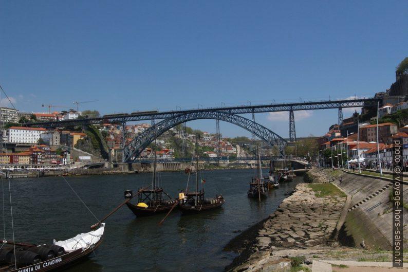 Ponte Luís I à Porto. Photo © André M. Winter
