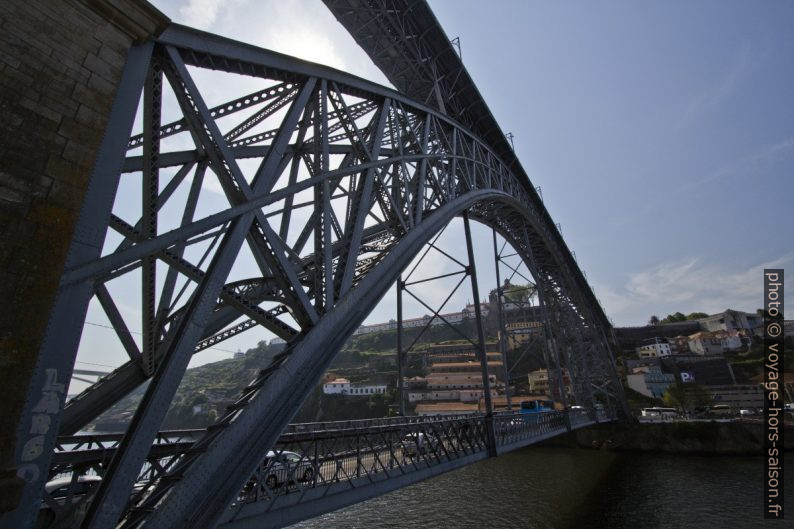 Pont Dom-Luís vu du nord-ouerst. Photo © André M. Winter