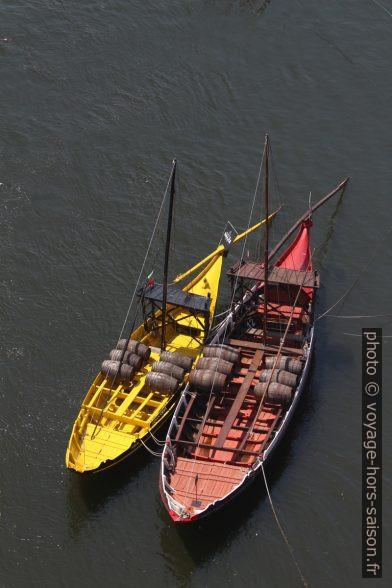 Barcos rabelos. Photo © André M. Winter