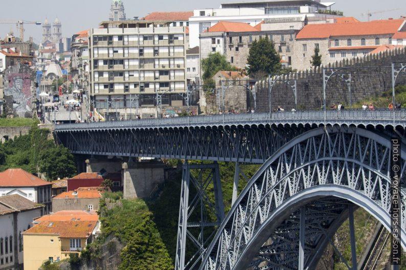 Tablier supérieur du Pont Dom-Luís. Photo © André M. Winter