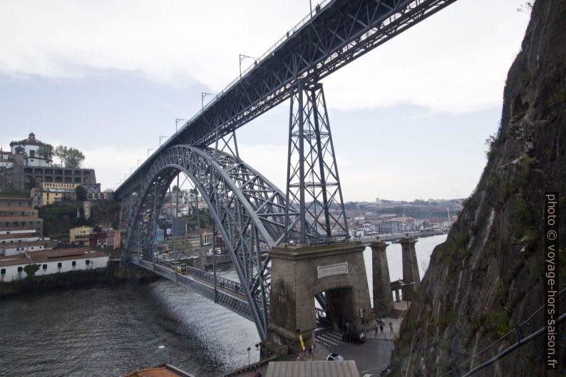 Ponte Luís I vu du Funicular dos Guindais. Photo © André M. Winter