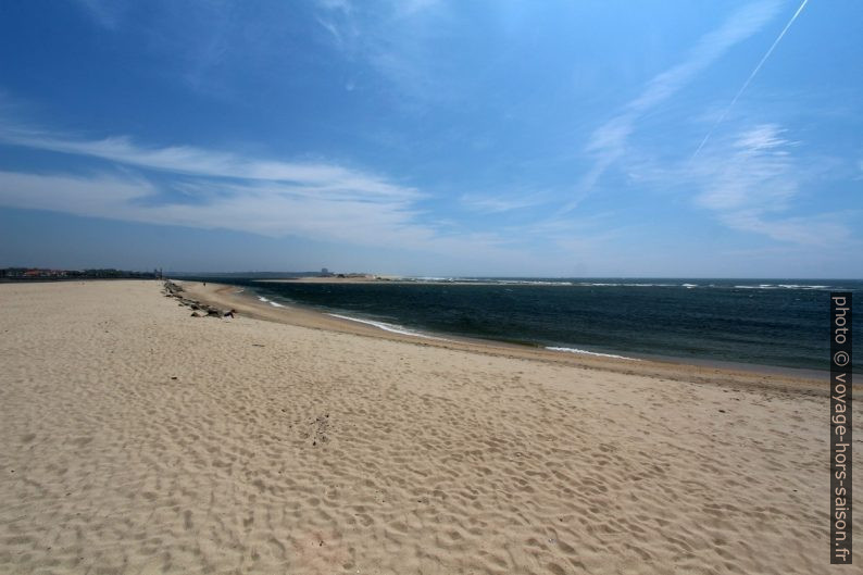 Plage de l'estuaire du Rio Cávado. Photo © André M. Winter