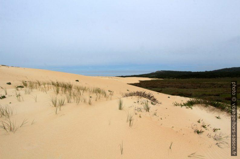 Face terre de la Dune de Corrubedo. Photo © André M. Winter