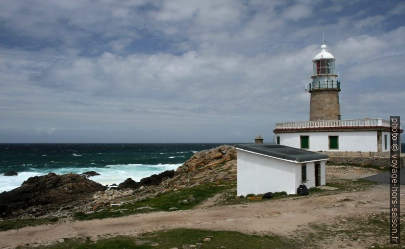 Faro de Corrubedo. Photo © Alex Medwedeff