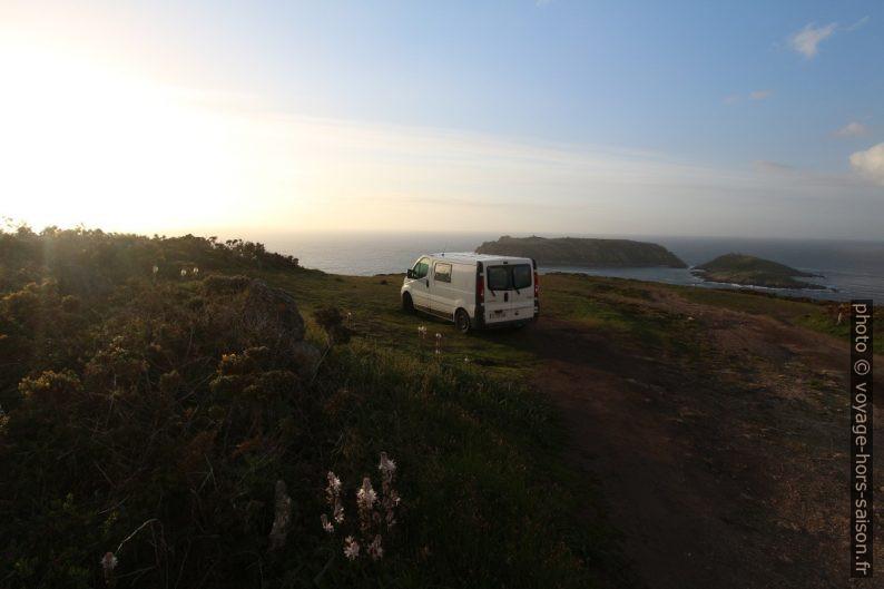 Notre Trafic le soir au Cabo Santo Adrián. Photo © André M. Winter