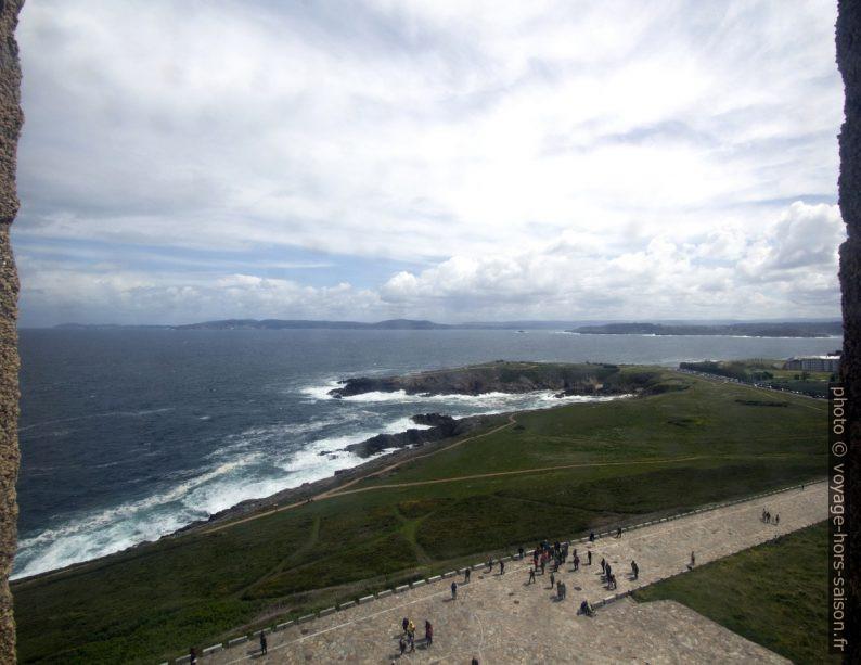 Punta Hermina et la côte au nord-est de la Coruña. Photo © André M. Winter