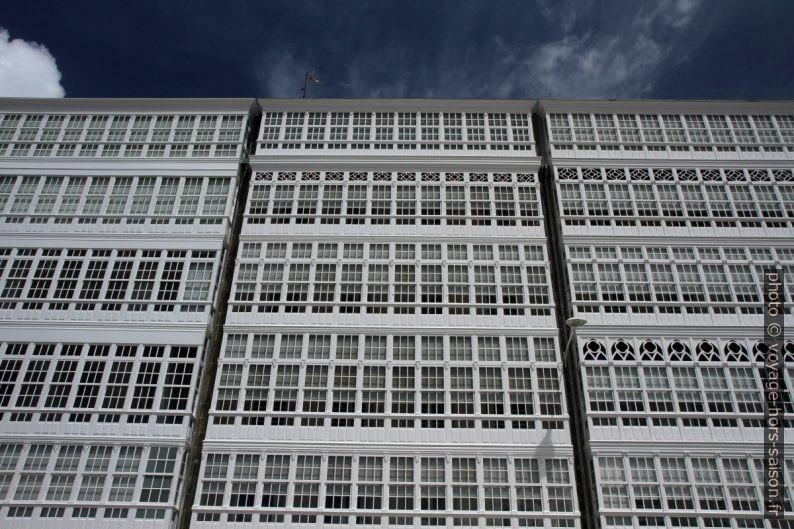 Galeries de la Coruña. Photo © Alex Medwedeff
