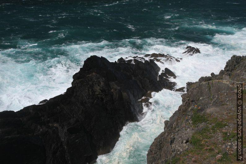 Côte rocheuse de la Punta Frouxeira. Photo © Alex Medwedeff