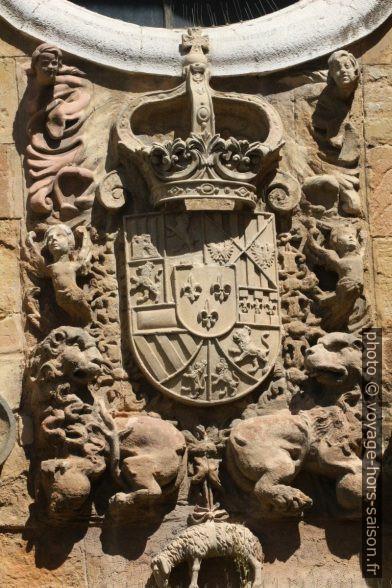 Blason des Princes des Asturies. Photo © André M. Winter