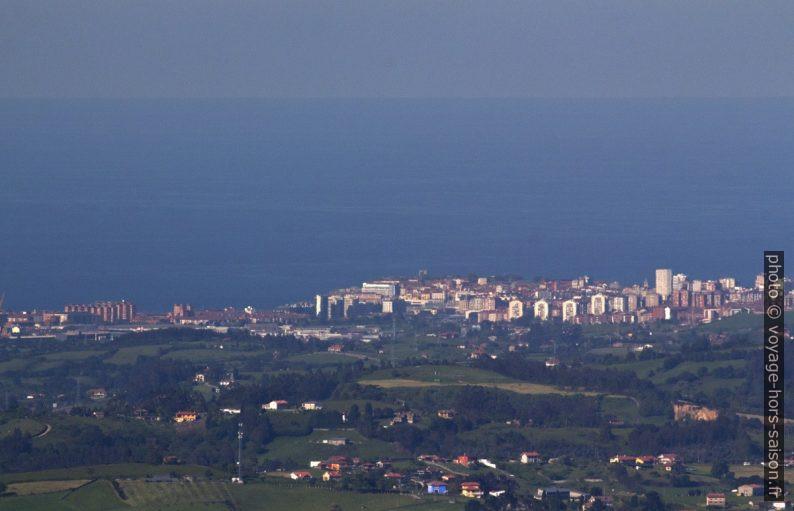 Gijón vue du Monte Naranco. Photo © André M. Winter