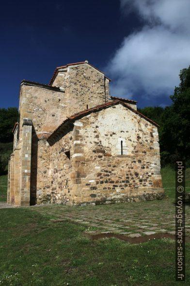 Chœurr actuel de l'église Saint-Michel-de-Lillo d'Oviedo. Photo © Alex Medwedeff