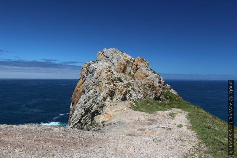 Dernier bout de chemin au Cap de Peñas. Photo © André M. Winter