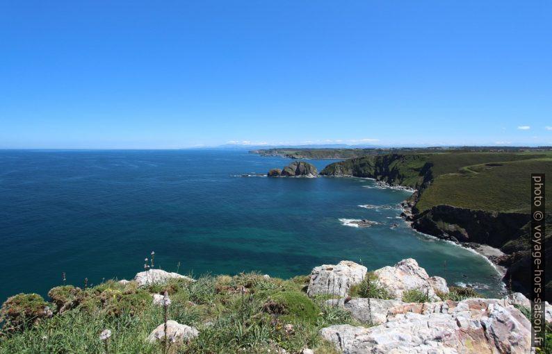 Vue du Cabo de Peñas vers le sud-est. Photo © André M. Winter