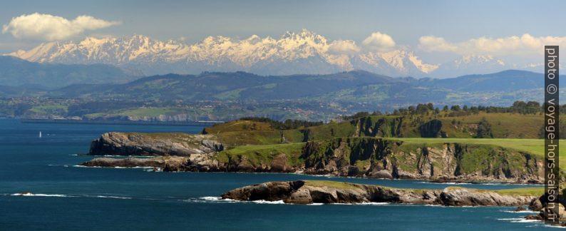 Face nord-ouest des Picos de Europa. Photo © André M. Winter