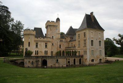 La partie plus ancienne du Château de Campagne. Photo © Alex Medwedeff