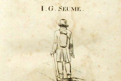 Titre du livre Spaziergang à Syrakus de 1803. Photo CCBY3 Wikimedia H.-P.Haack