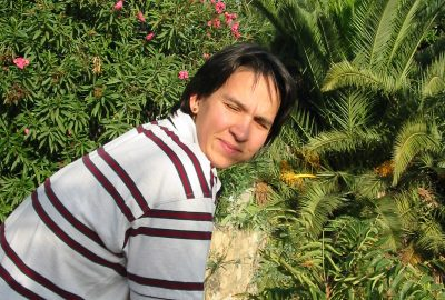 Alex au soleil de la Costa del Sol. Photo © André M. Winter