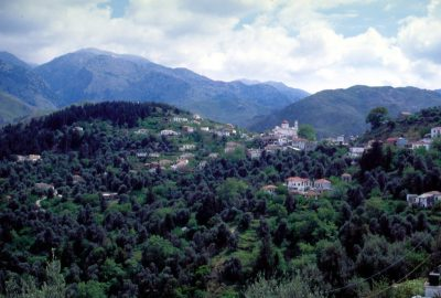 Village de Lakki. Photo © André M. Winter