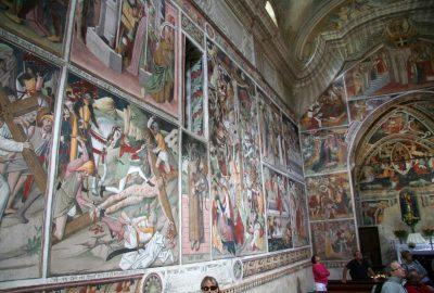 Fresques gauches de Notre-Dame-des-Fontaines. Photo © André M. Winter