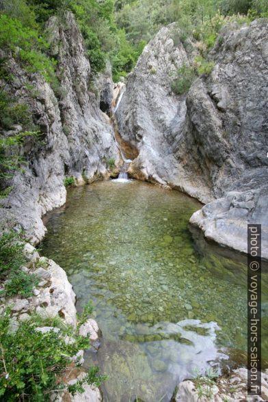 Gorges du Paillon de Contes. Photo © André M. Winter