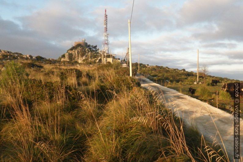 Tour et phare du Cap Palinuro. Photo © André M. Winter