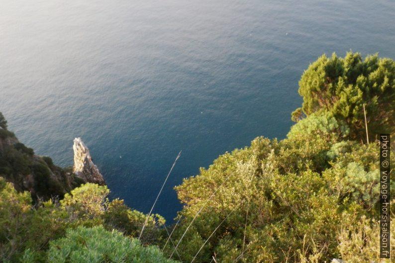 Côte abrupte du versant sud du Capo Palinuro. Photo © André M. Winter