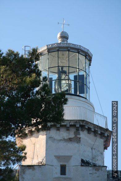 Lanterne du Phare du Capo Palinuro. Photo © Alex Medwedeff