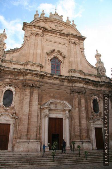 Façade de la Concattedrale della Madonna della Madia. Photo © Alex Medwedeff