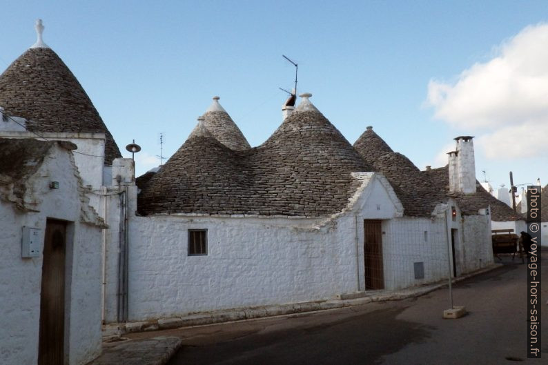 Trulli multiples. Photo © André M. Winter