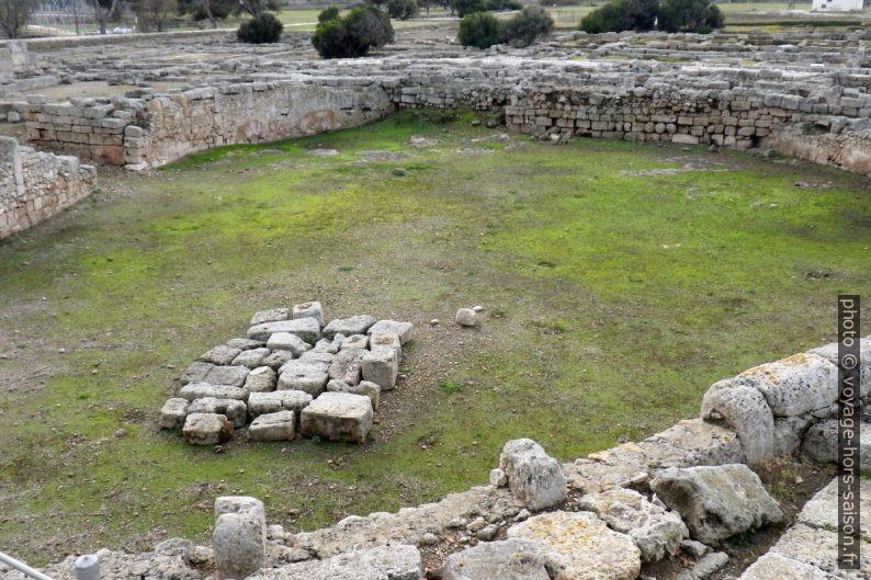 L'amphithéâtre d'Egnazia. Photo © André M. Winter