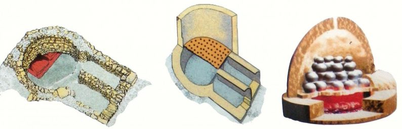 Le four à poteries d'Egnazia