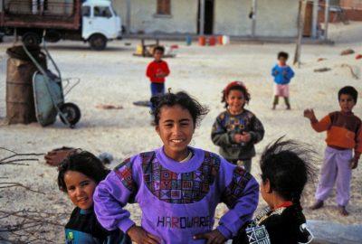 Enfants à Es-Sabria . Photo © André M. Winter