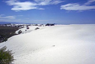 La dune dans le Withe Sands National Monument. Photo © André M. Winter