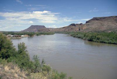 Le Rio Grande près de Hatch. Photo © André M. Winter