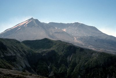 Mount Saint Helens vu du nord. Photo © Peter Sykora