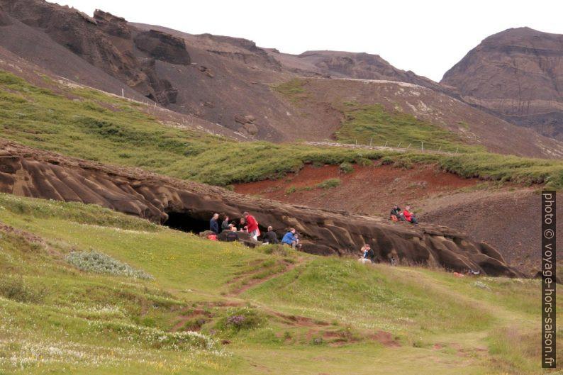 Grottes de Laugarvatnshellar. Photo © André M. Winter