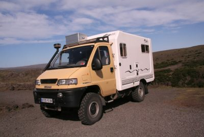 Camping-car sur base SCAM SMT35 4x4. Photo © André M. Winter